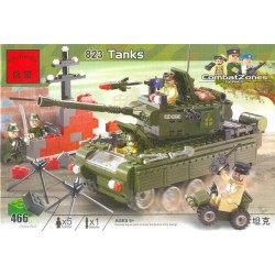 Brick 823 Tanks. 466 деталей