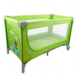 Манеж CARRELLO Piccolo CRL-7303 green/grey/purple/beige